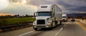 Trucking company files bankruptcy.